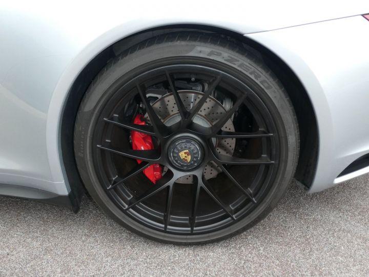 Porsche 911 991 II GTS CABRIOLET 3.0 450 CV PDK Argent Occasion - 17