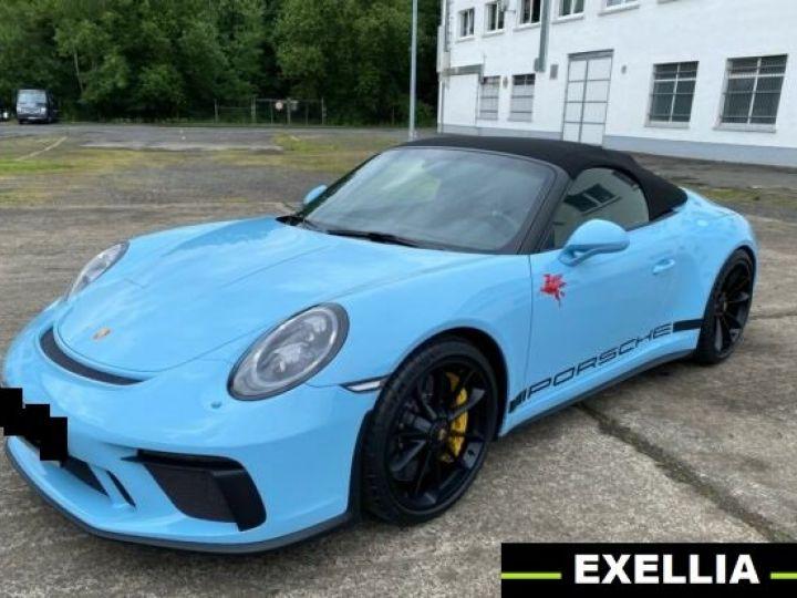 Porsche 911 991 SPEEDSTER BLEU PEINTURE METALISE Occasion - 2