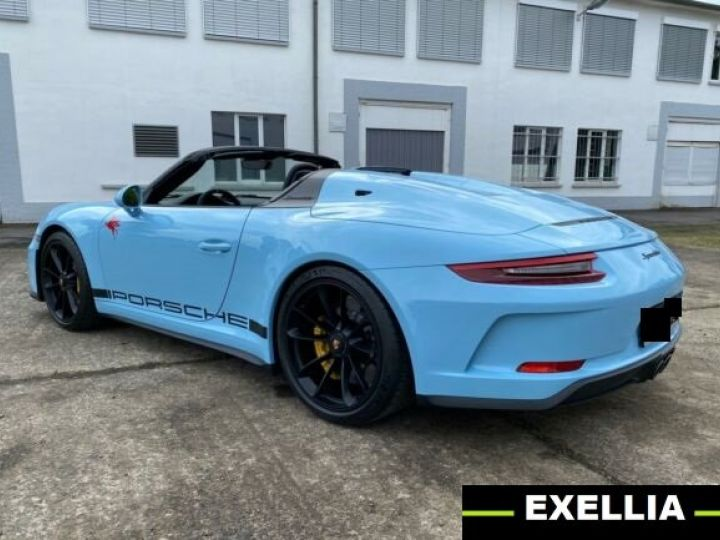 Porsche 911 991 SPEEDSTER BLEU PEINTURE METALISE Occasion - 4