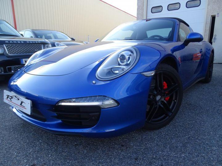 Porsche 911 991 TARGA 4 PDK / XLF BI XENON APPLE CAR PLAY bleu métallisé métallisé  - 1