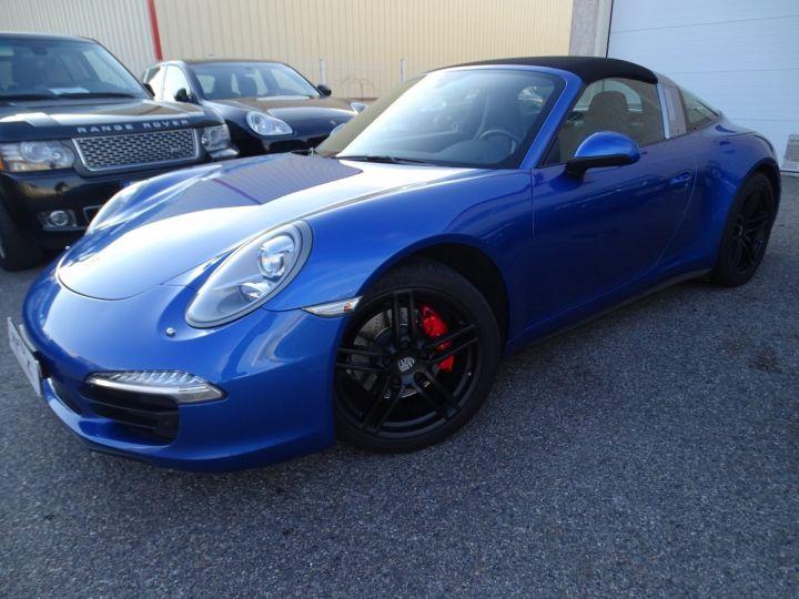 Porsche 911 991 TARGA 4 PDK / XLF BI XENON APPLE CAR PLAY bleu métallisé métallisé  - 2