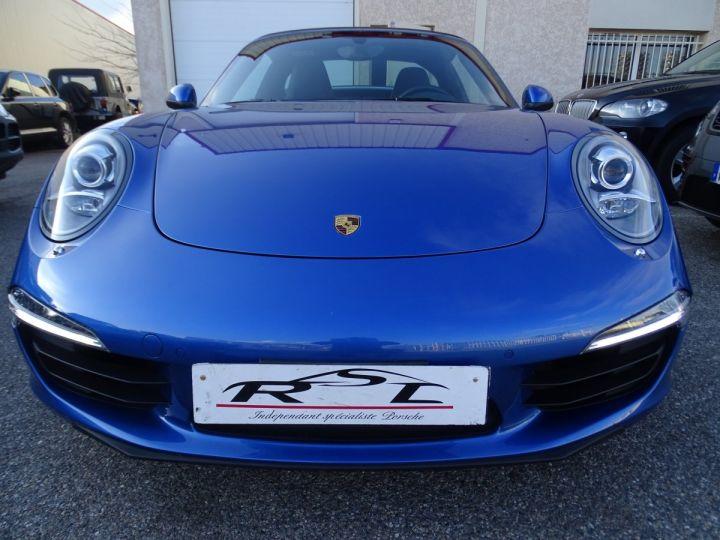 Porsche 911 991 TARGA 4 PDK / XLF BI XENON APPLE CAR PLAY bleu métallisé métallisé  - 3