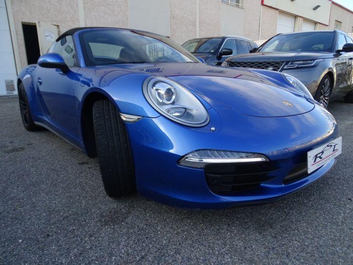 Porsche 911 991 TARGA 4 PDK / XLF BI XENON APPLE CAR PLAY bleu métallisé métallisé  - 4