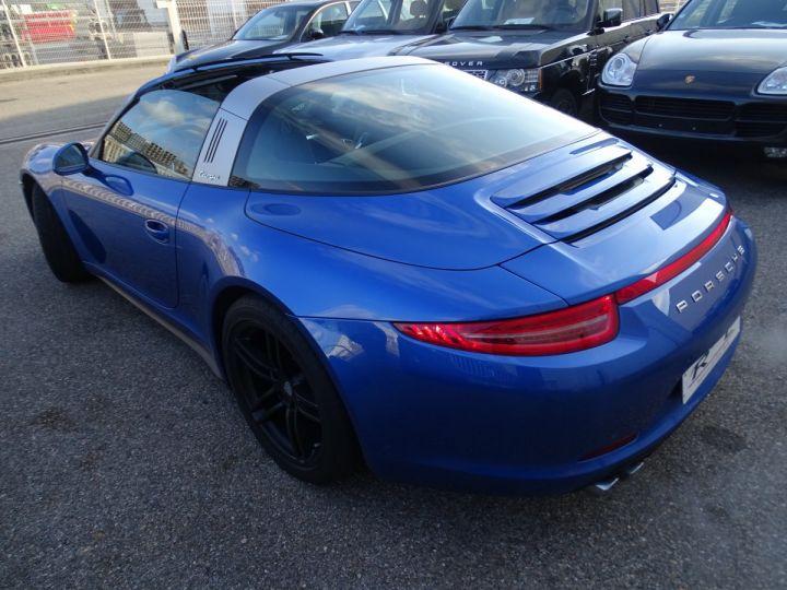 Porsche 911 991 TARGA 4 PDK / XLF BI XENON APPLE CAR PLAY bleu métallisé métallisé  - 5