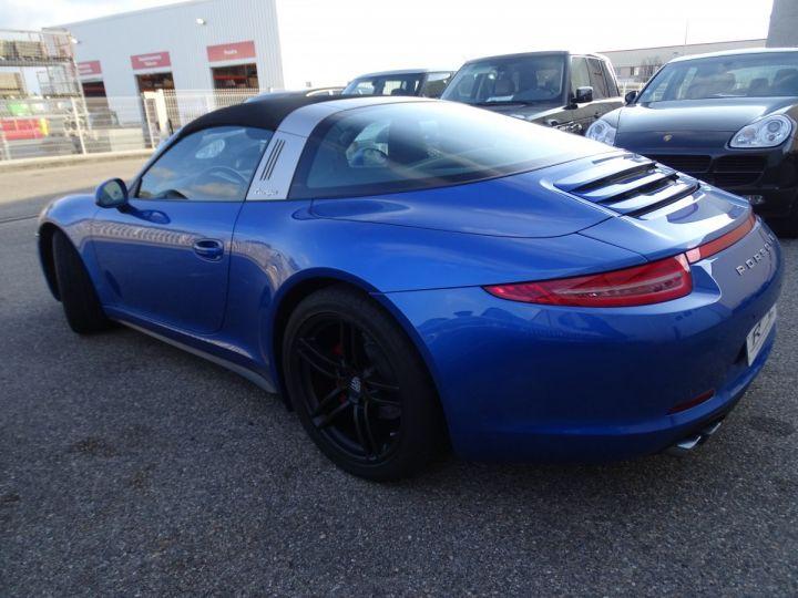 Porsche 911 991 TARGA 4 PDK / XLF BI XENON APPLE CAR PLAY bleu métallisé métallisé  - 6