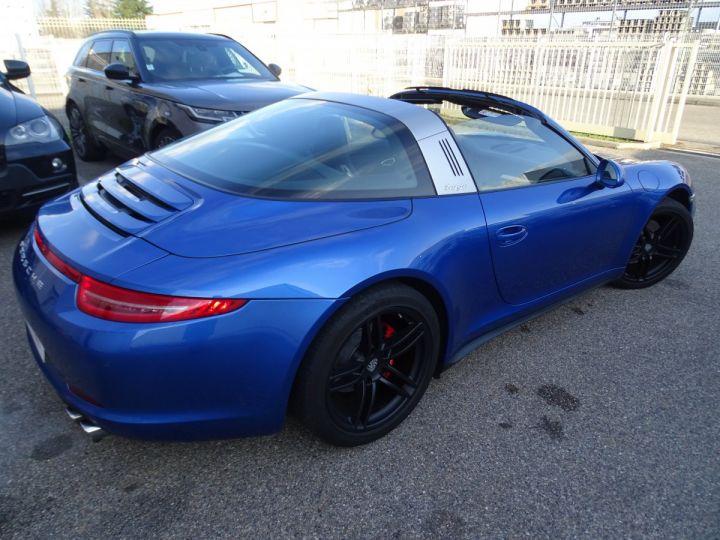 Porsche 911 991 TARGA 4 PDK / XLF BI XENON APPLE CAR PLAY bleu métallisé métallisé  - 8