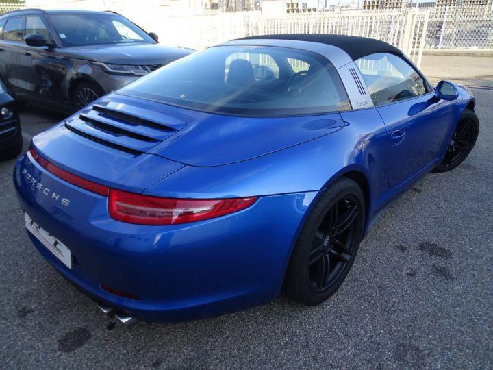 Porsche 911 991 TARGA 4 PDK / XLF BI XENON APPLE CAR PLAY bleu métallisé métallisé  - 9
