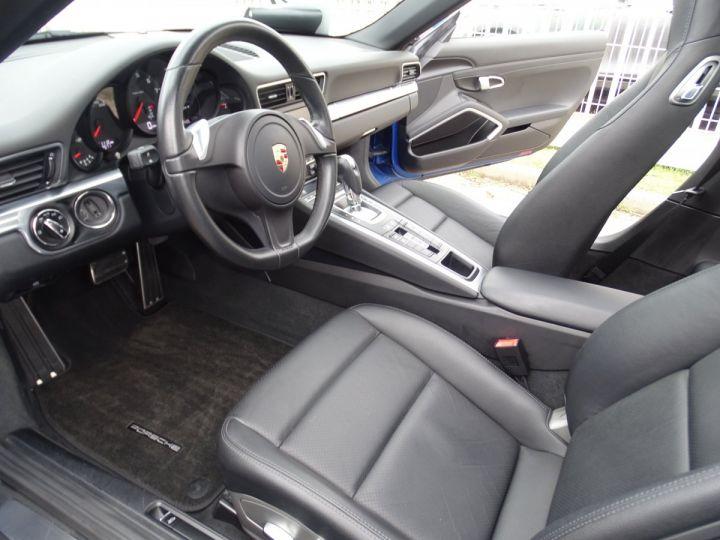 Porsche 911 991 TARGA 4 PDK / XLF BI XENON APPLE CAR PLAY bleu métallisé métallisé  - 11