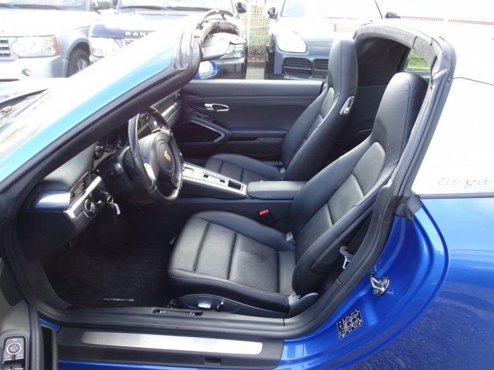Porsche 911 991 TARGA 4 PDK / XLF BI XENON APPLE CAR PLAY bleu métallisé métallisé  - 14