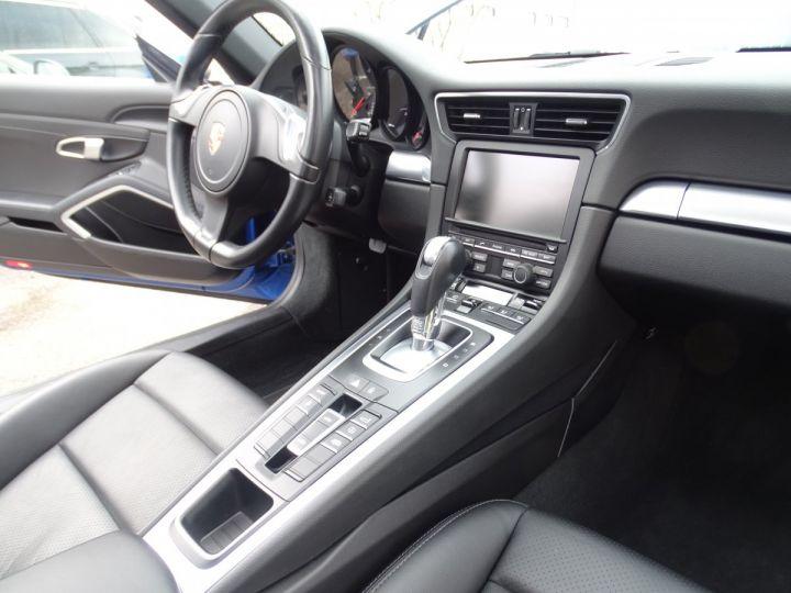 Porsche 911 991 TARGA 4 PDK / XLF BI XENON APPLE CAR PLAY bleu métallisé métallisé  - 15