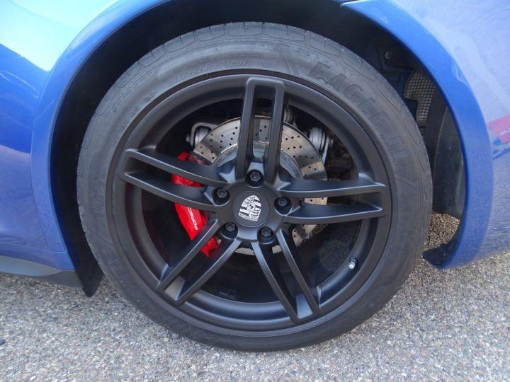 Porsche 911 991 TARGA 4 PDK / XLF BI XENON APPLE CAR PLAY bleu métallisé métallisé  - 21
