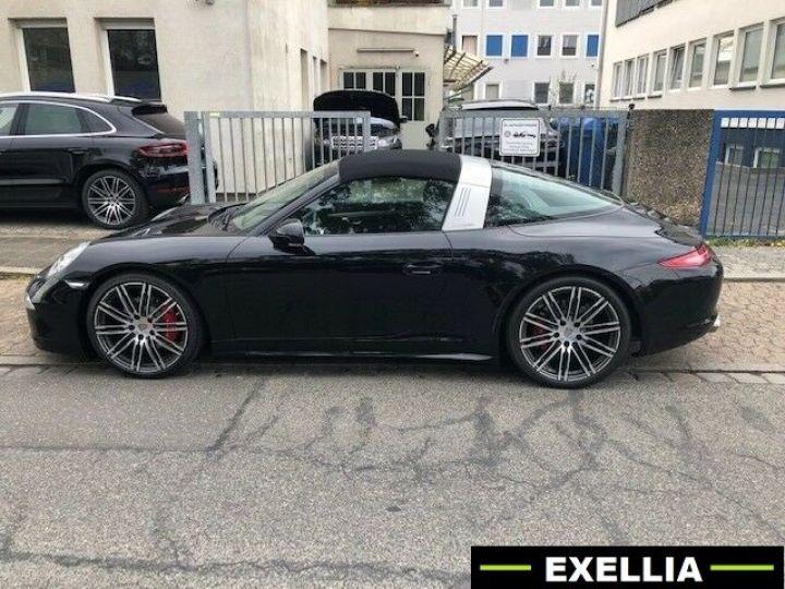 Porsche 911 991 Targa 4S NOIR PEINTURE METALISE  Occasion - 3