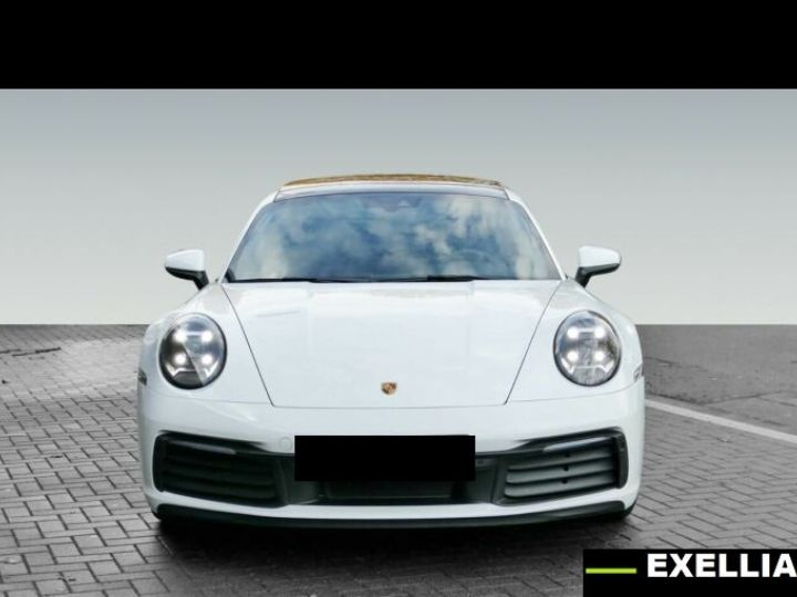 Porsche 911 992 CARRERA 4  BLANC PEINTURE METALISE  Occasion - 2