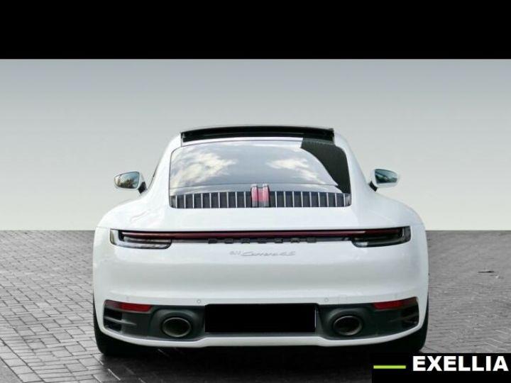 Porsche 911 992 CARRERA 4  BLANC PEINTURE METALISE  Occasion - 3