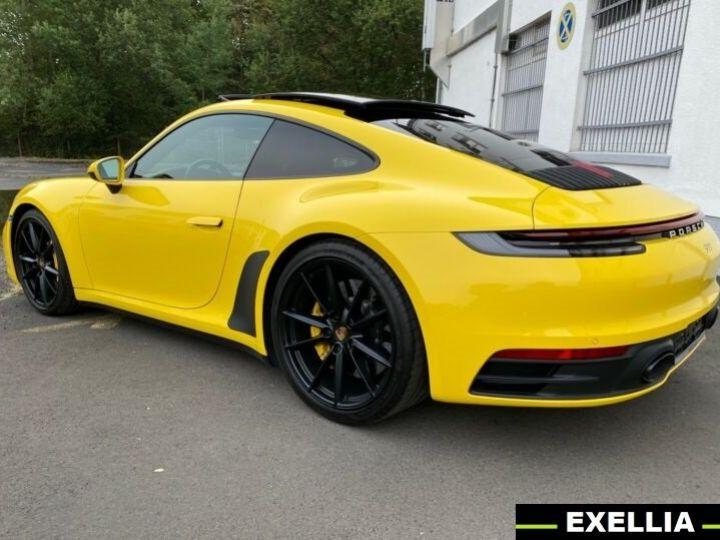 Porsche 911 992 CARRERA S JAUNE PEINTURE METALISE  Occasion - 2