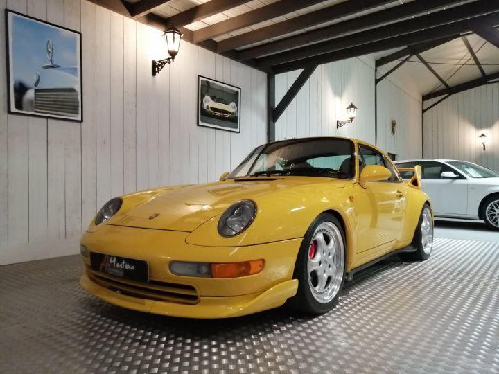 Porsche 911 993 CARRERA RS 3.8 300 CV CLUBSPORT Jaune - 2