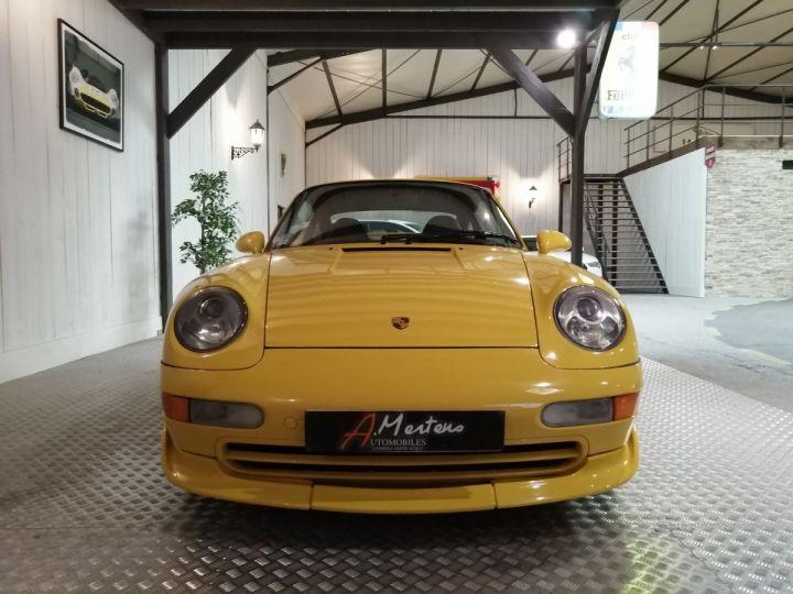 Porsche 911 993 CARRERA RS 3.8 300 CV CLUBSPORT Jaune - 3