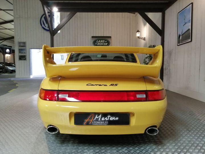 Porsche 911 993 CARRERA RS 3.8 300 CV CLUBSPORT Jaune - 4