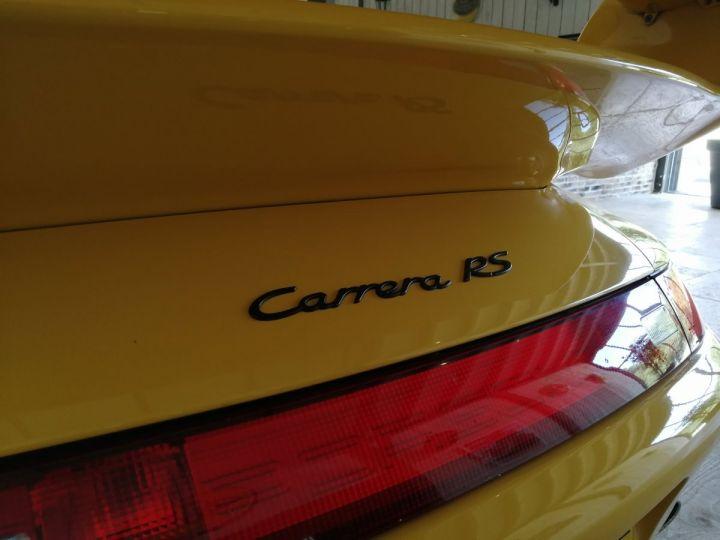 Porsche 911 993 CARRERA RS 3.8 300 CV CLUBSPORT Jaune - 7
