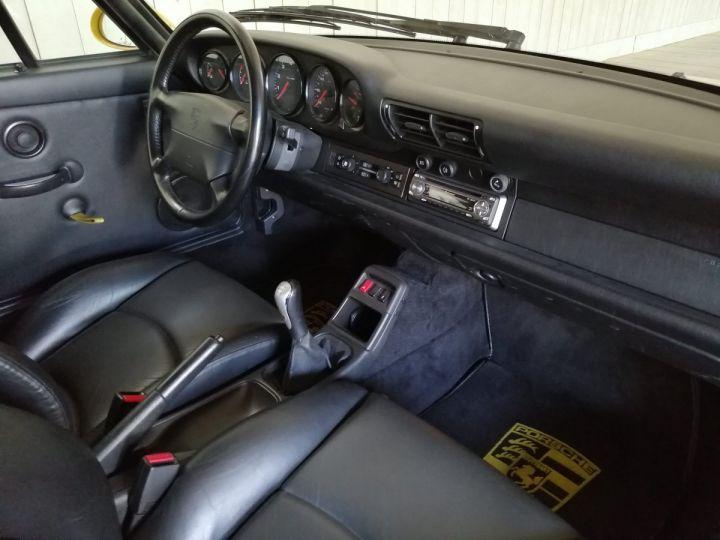 Porsche 911 993 CARRERA RS 3.8 300 CV CLUBSPORT Jaune - 13
