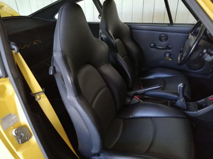 Porsche 911 993 CARRERA RS 3.8 300 CV CLUBSPORT Jaune - 14