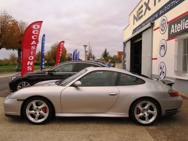 Porsche 911 (996) 320CH CARRERA 4S TIPTRONIC S Gris Clair Occasion - 5
