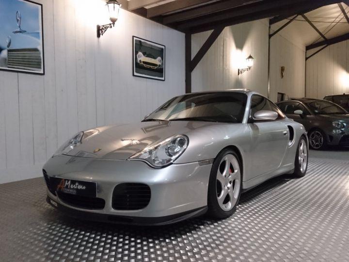 Porsche 911 996 TURBO 3.6 420 CV BV6 Gris - 2