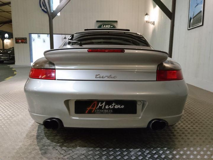 Porsche 911 996 TURBO 3.6 420 CV BV6 Gris - 4