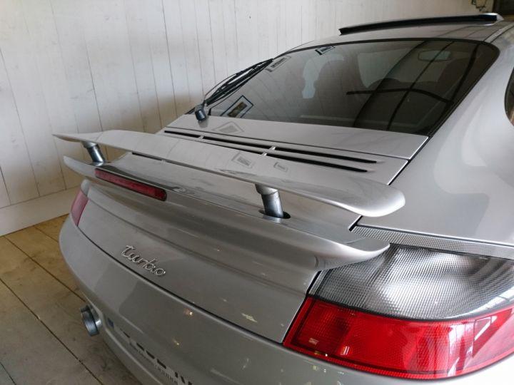 Porsche 911 996 TURBO 3.6 420 CV BV6 Gris - 14