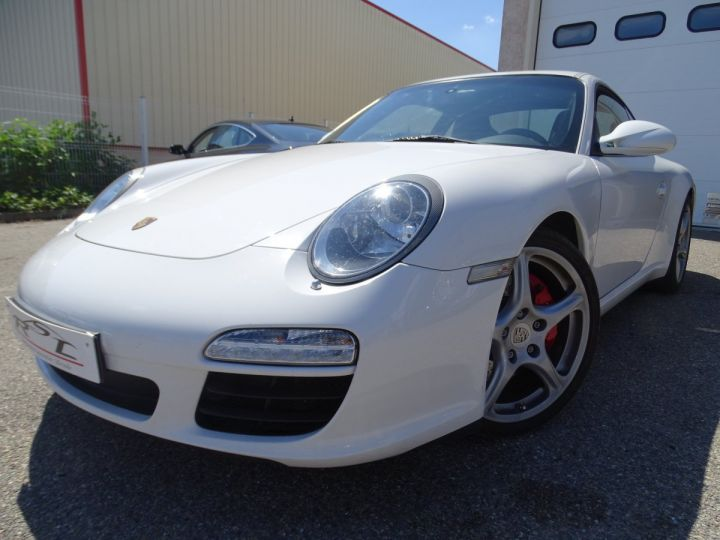 Porsche 911 997 2S PDK 385PS 3.8L/Full options Toe Pack Sport Pack Chrono blanc nacré - 1
