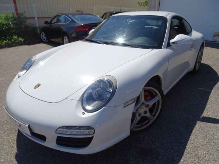 Porsche 911 997 2S PDK 385PS 3.8L/Full options Toe Pack Sport Pack Chrono blanc nacré - 2
