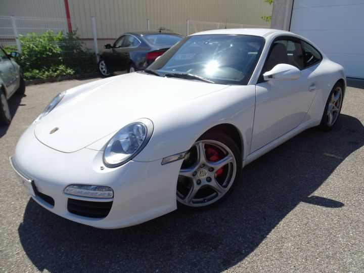 Porsche 911 997 2S PDK 385PS 3.8L/Full options Toe Pack Sport Pack Chrono blanc nacré - 3