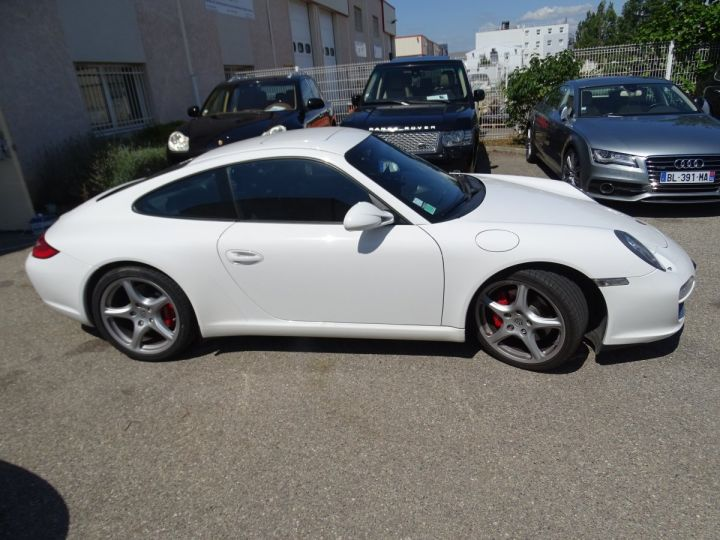Porsche 911 997 2S PDK 385PS 3.8L/Full options Toe Pack Sport Pack Chrono blanc nacré - 6