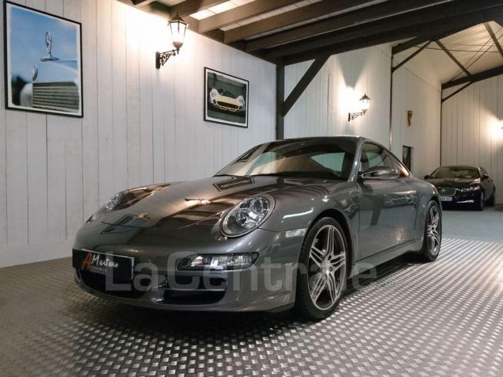 Porsche 911 997 3.8 355 CARRERA S gris metal - 1