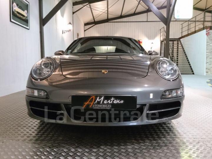 Porsche 911 997 3.8 355 CARRERA S gris metal - 3