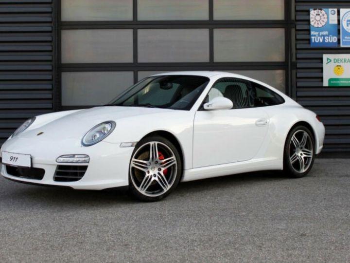 Porsche 911 997 4S  blanc - 1