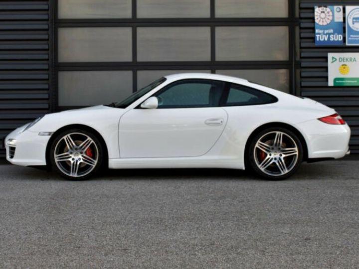 Porsche 911 997 4S  blanc - 3