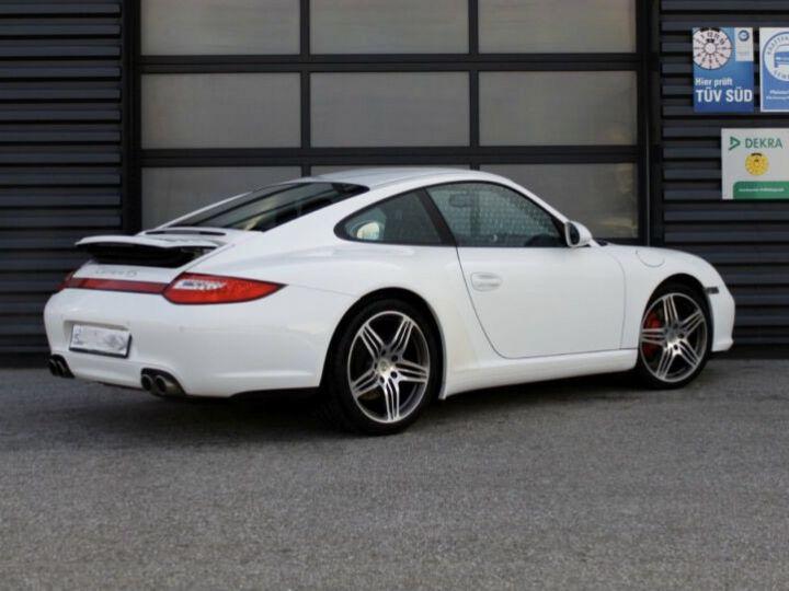 Porsche 911 997 4S  blanc - 4