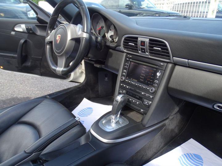 Porsche 911 997 4S Cabriolet MK2 PDK 3.8L 385PS/ PCM Jtes 19 Turbo  PASM Bi Xénon Blanc carrera nacré - 13