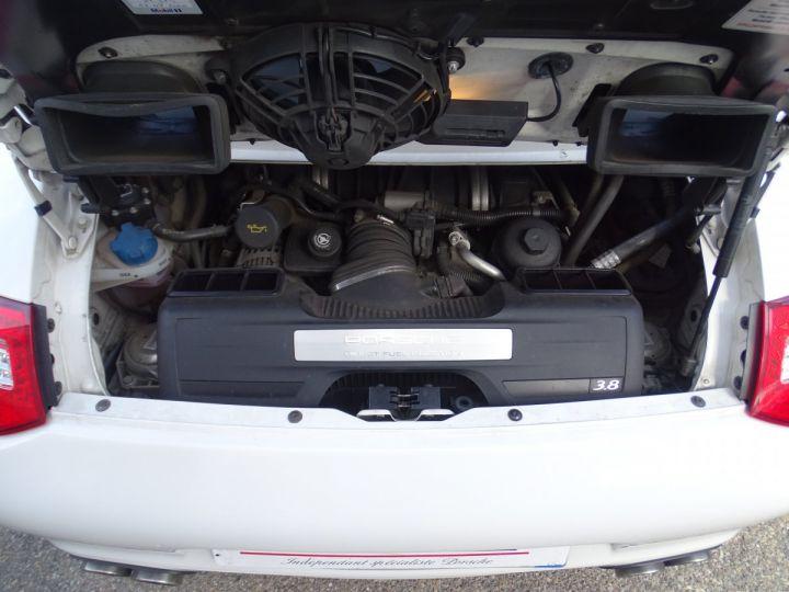 Porsche 911 997 4S Cabriolet MK2 PDK 3.8L 385PS/ PCM Jtes 19 Turbo  PASM Bi Xénon Blanc carrera nacré - 20