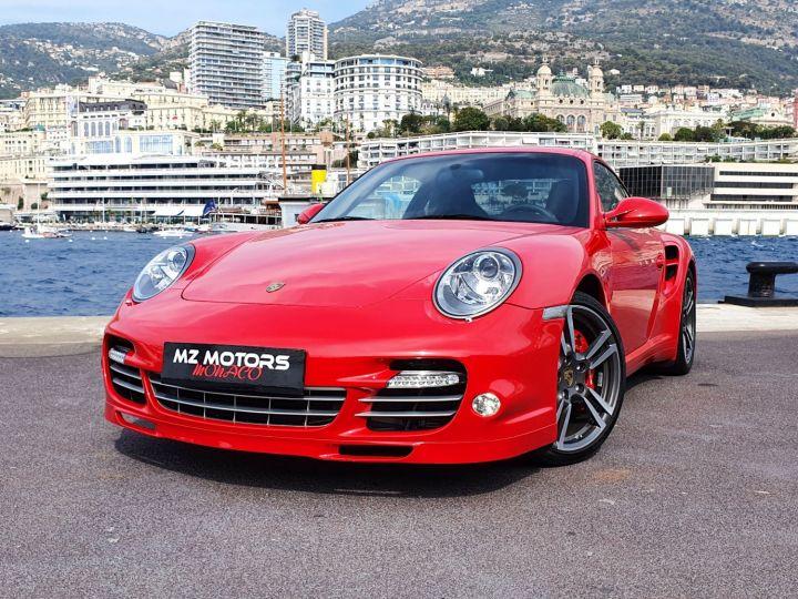 Porsche 911 997 II TURBO COUPE 3.8 500 CV PDK - 1ere Main - 25900 Km Red Guards Vendu - 2