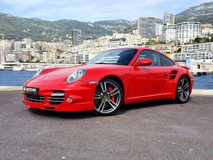 Porsche 911 997 II TURBO COUPE 3.8 500 CV PDK - 1ere Main - 25900 Km Red Guards Vendu - 4