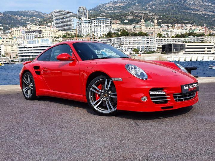 Porsche 911 997 II TURBO COUPE 3.8 500 CV PDK - 1ere Main - 25900 Km Red Guards Vendu - 5