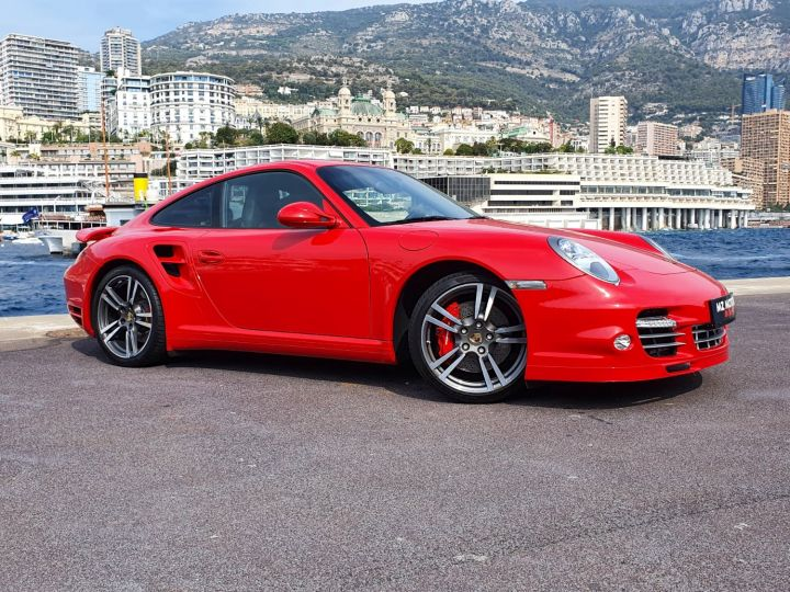 Porsche 911 997 II TURBO COUPE 3.8 500 CV PDK - 1ere Main - 25900 Km Red Guards Vendu - 6