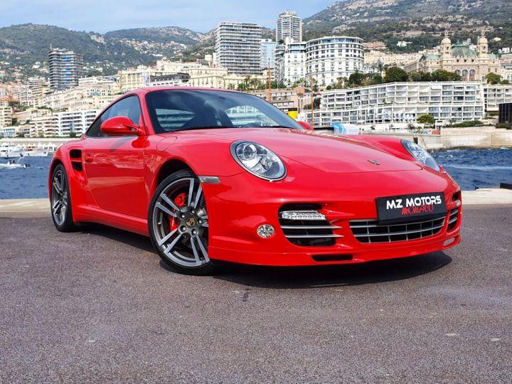 Porsche 911 997 II TURBO COUPE 3.8 500 CV PDK - 1ere Main - 25900 Km Red Guards Vendu - 7