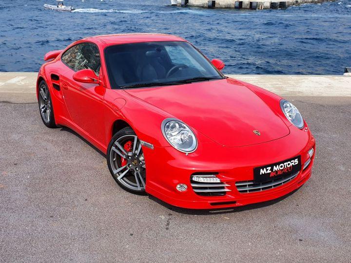 Porsche 911 997 II TURBO COUPE 3.8 500 CV PDK - 1ere Main - 25900 Km Red Guards Vendu - 9