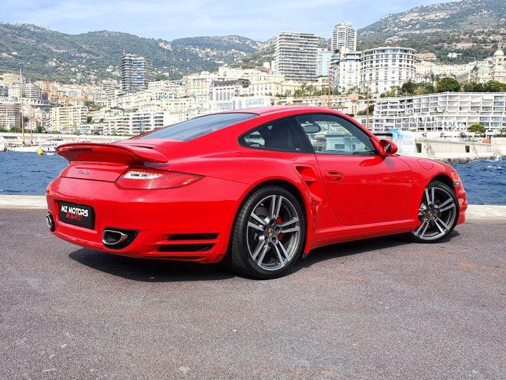 Porsche 911 997 II TURBO COUPE 3.8 500 CV PDK - 1ere Main - 25900 Km Red Guards Vendu - 11