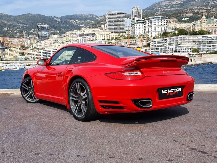 Porsche 911 997 II TURBO COUPE 3.8 500 CV PDK - 1ere Main - 25900 Km Red Guards Vendu - 13