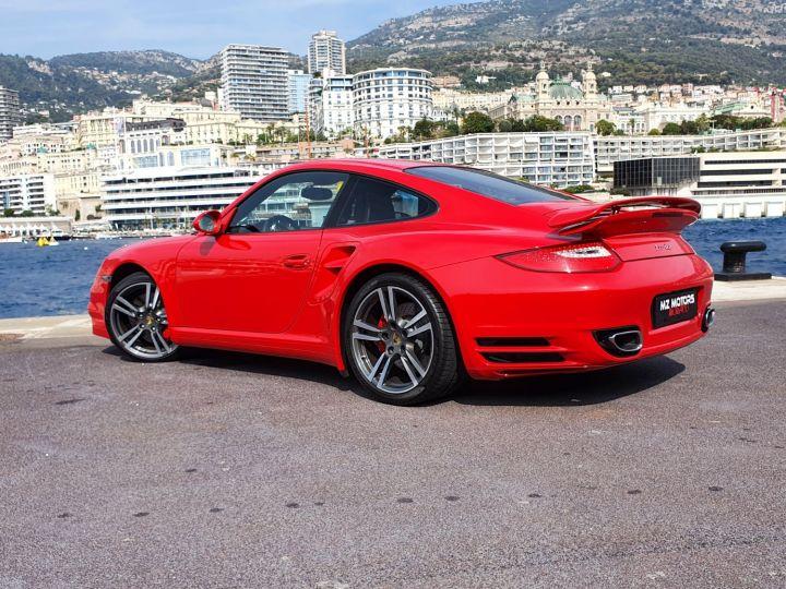 Porsche 911 997 II TURBO COUPE 3.8 500 CV PDK - 1ere Main - 25900 Km Red Guards Vendu - 14