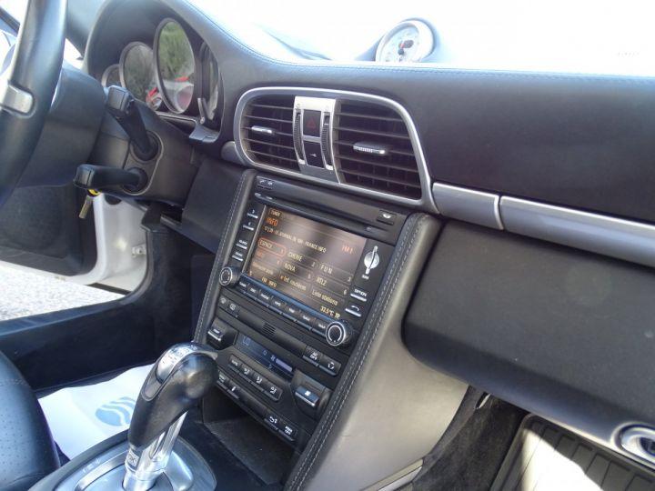 Porsche 911 997 S 3.8L 385PS PDK/PACK CHRONO + TOE BIXENON CD S.SPORT PACK CUIR REGULATEUR DE VITESSE blanc nacré - 15